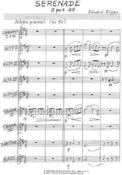 Elgar, Serenade