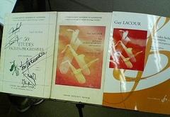 Guy Lacour, 50 Etudes