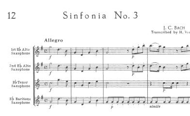 Sinfonia No.3